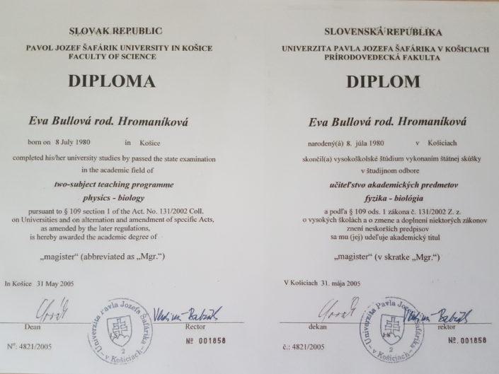 certifikát naturopatia